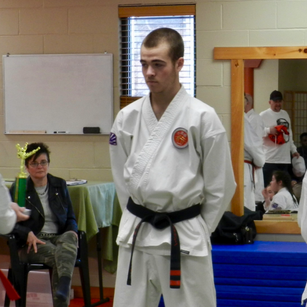 MJS Becoming a Black Belt
