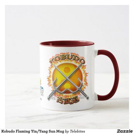 Blazing Yin Yang Sun Kobudo Mug