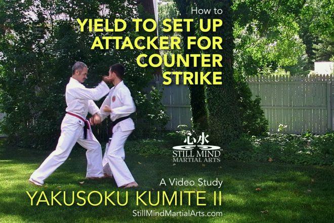 How to Yield to Set Up Attacker for Counter Strike - Yakusoku Kumite II Video Study