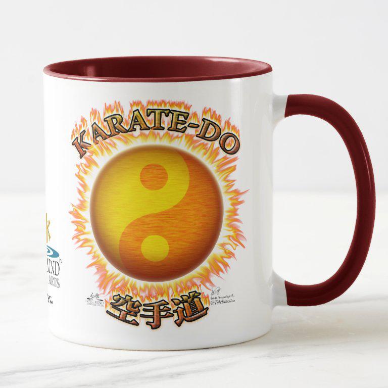 Origins of Still Mind Martial Arts - Karate-do Mug