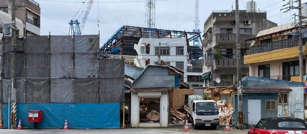 Shoshin Nagamine's dojo is demolished - The birthplace of Matsubayashi Shorin Ryu