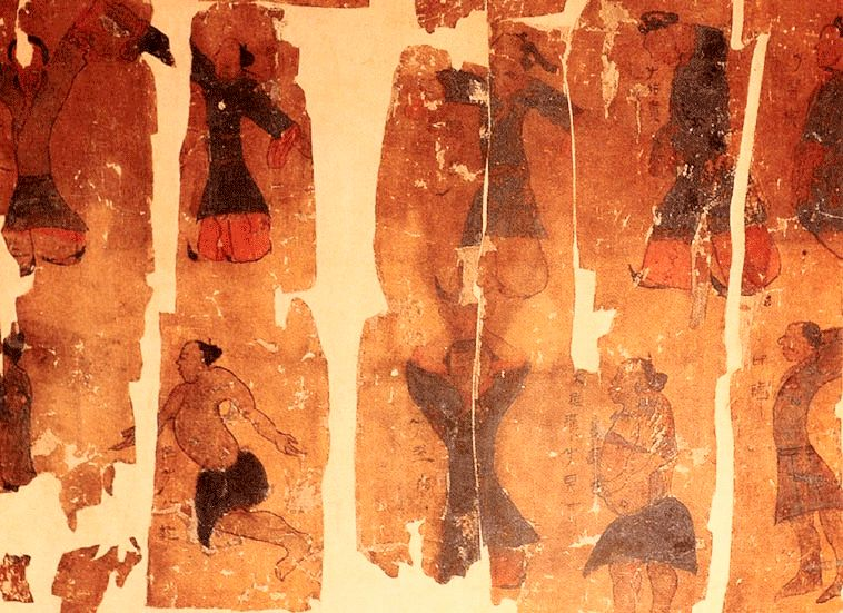 The Daoyintu - Precursor to Qigong - 168 BC