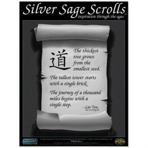 Lau Tzu Tao Te Ching 64 Silver Sage Scrolls 002