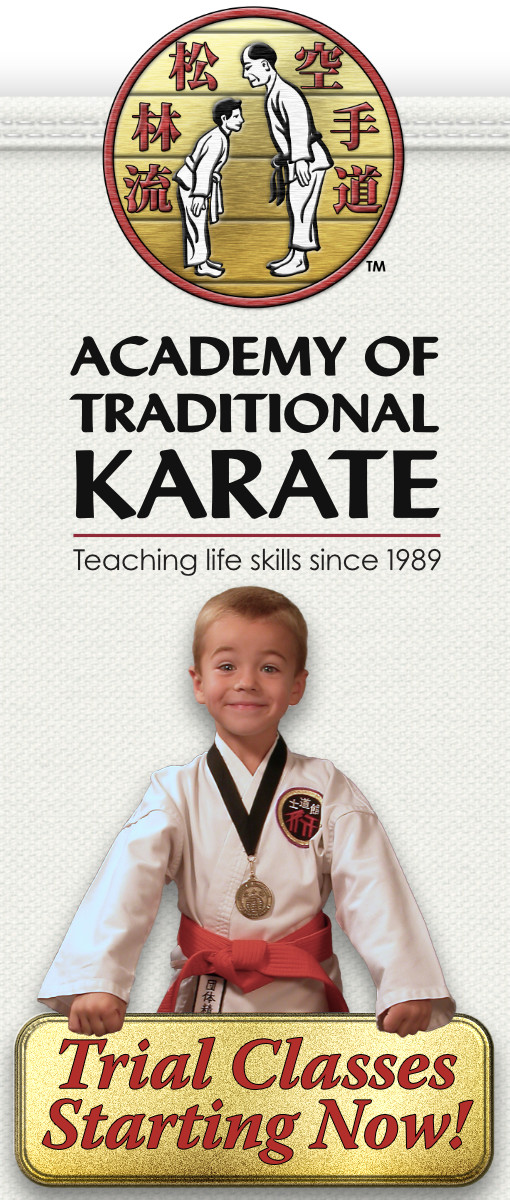 Academy of Traditional Karate: Trial Classes Starting Now