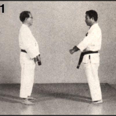 Shoshin Nagamine Demonstrates Yakusoku Kumite II #1