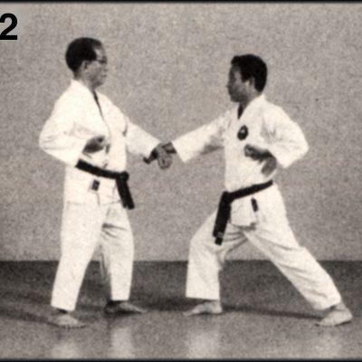 Shoshin Nagamine Demonstrates Yakusoku Kumite II #2