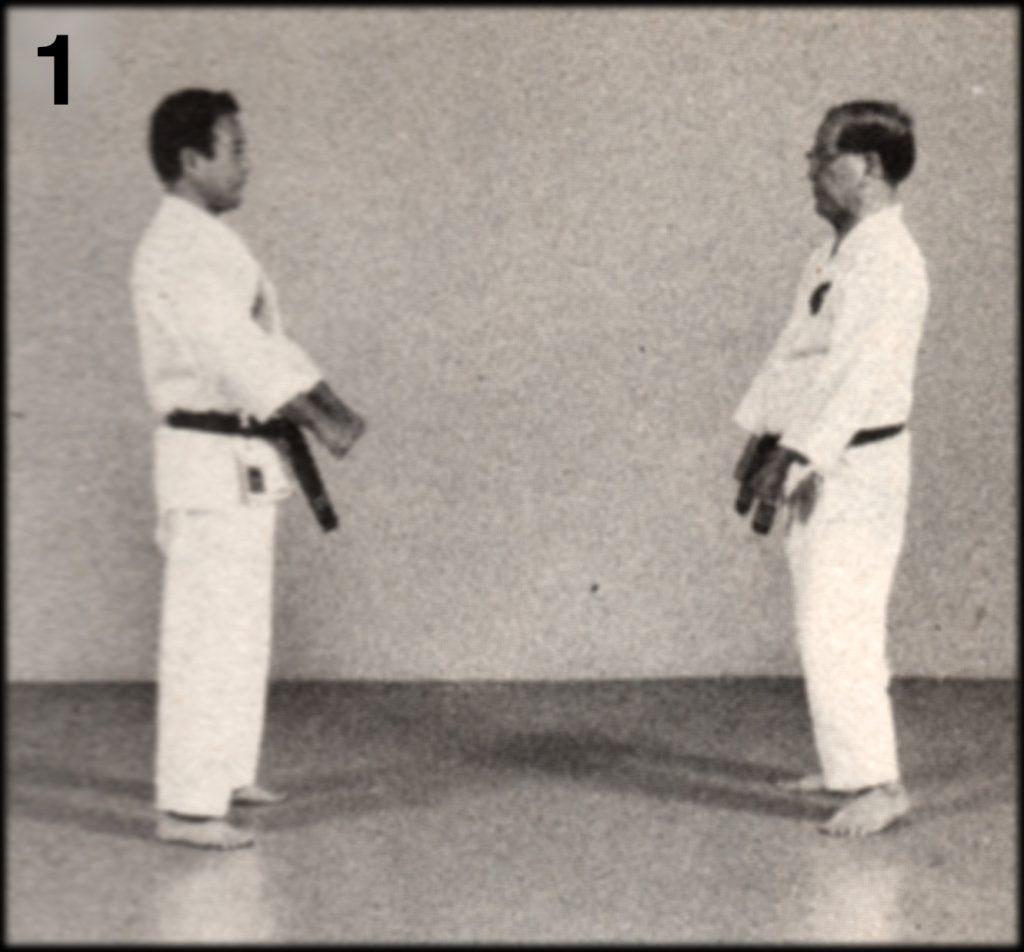 Shoshin Nagamine Demonstrates Yakusoku Kumite III #1