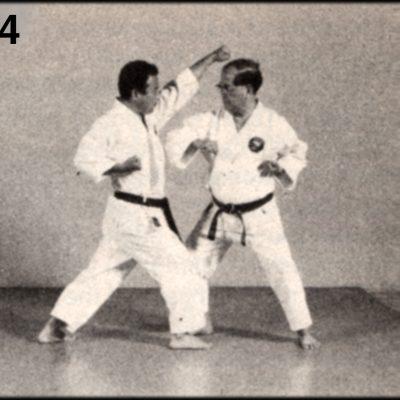 Shoshin Nagamine Demonstrates Yakusoku Kumite III #4