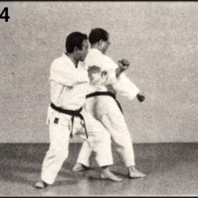 Shoshin Nagamine Demonstrates Yakusoku Kumite V #4