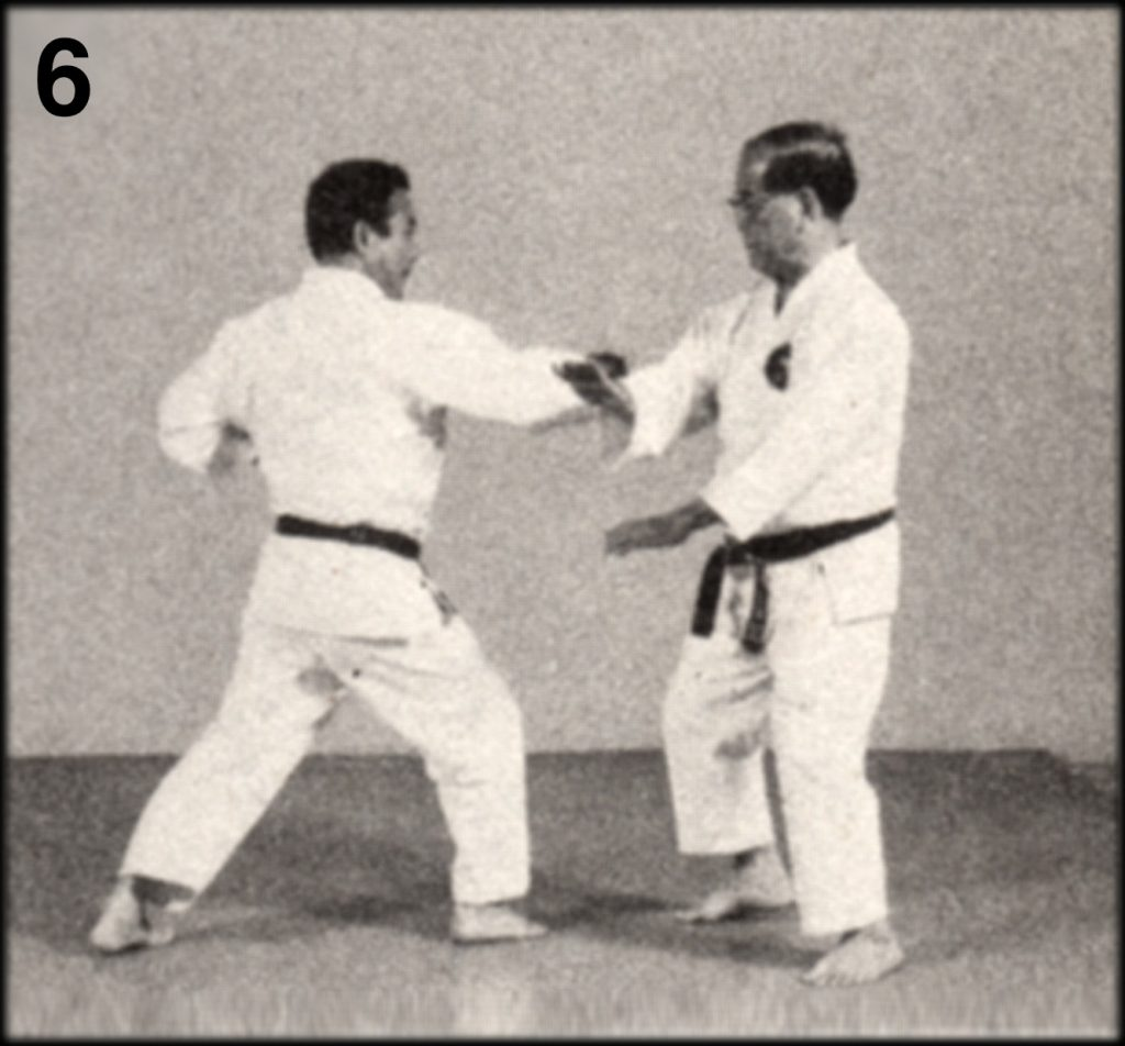 Shoshin Nagamine Demonstrates Yakusoku Kumite V #6