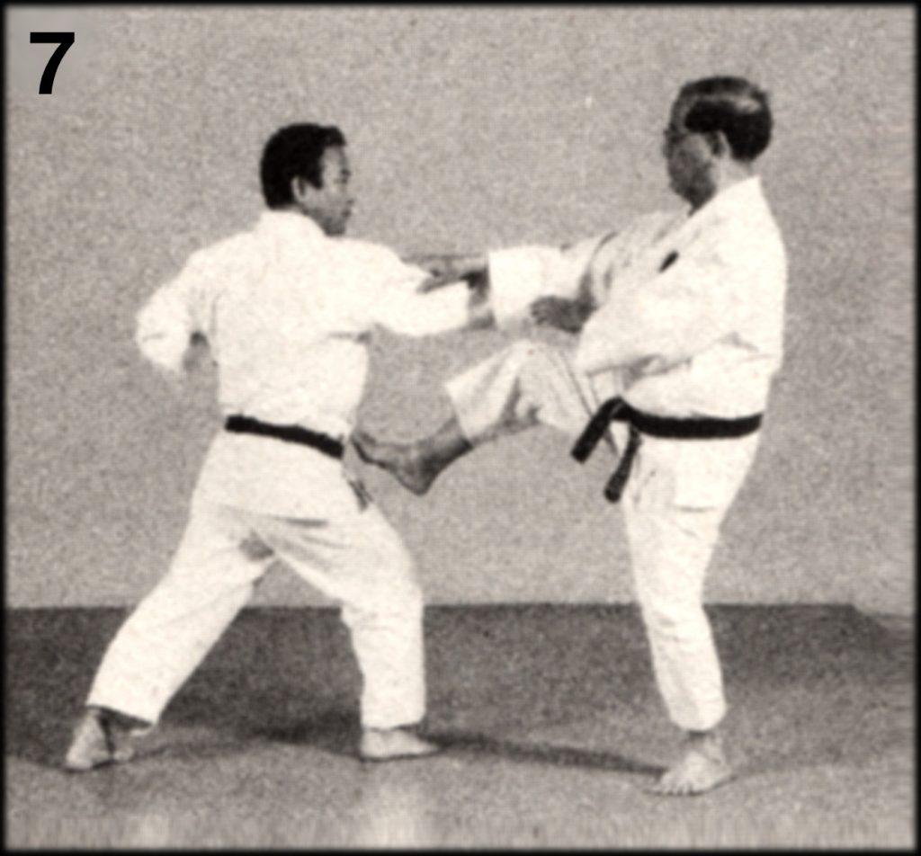 Shoshin Nagamine Demonstrates Yakusoku Kumite V #7