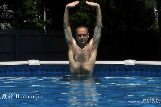 Qigong in Water - Baduanjin in Water - Eight Pieces of Brocade in Pool