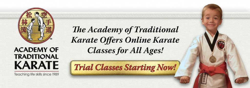 The Academy of Traditional Karate Offers Online Karate Classes for All Ages!