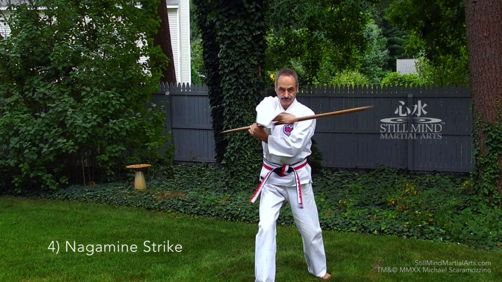 4 Nagamine Strike - Kobudo Bo Basics