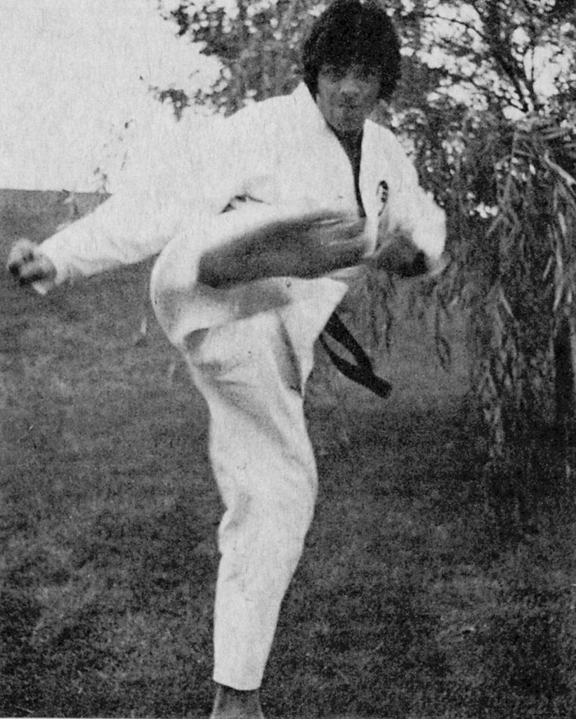 Hanshi-sei Ron Martin Yoko Geri Side Kick