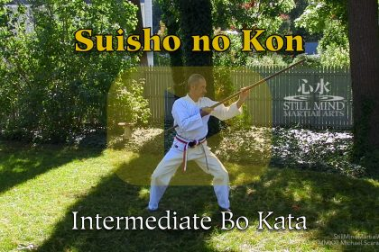 Suisho no Kon Intermediate Bo Kata