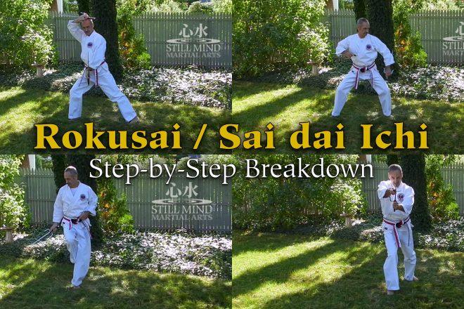 Rokusai / Sai dai Ichi Step-by-step Breakdown