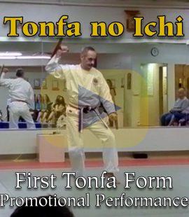 Tonfa no Ichi First Tonfa Form Promotional Performance