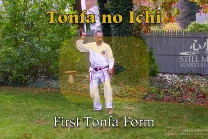 Tonfa no Ichi First Tonfa Form